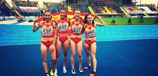 Post de La irreverente cantera del atletismo español