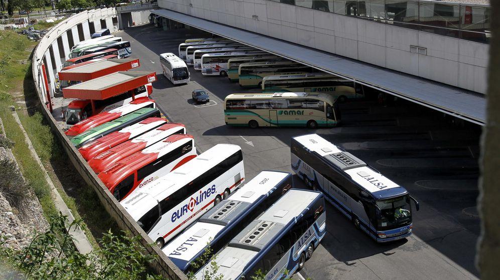 Foto: Estación de autobuses de Madrid. (EFE)