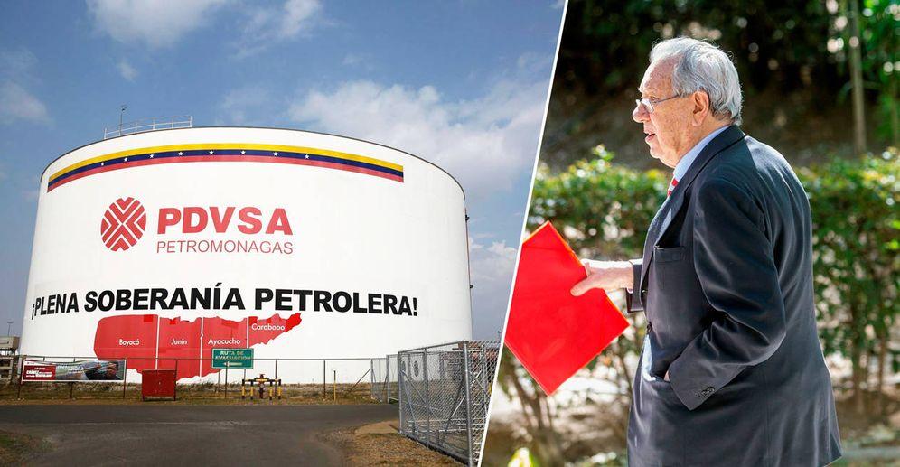 Foto: Instalación de PDVSA en Venezuela y Raúl Morodo, exembajador de España en Caracas entre 2004 y 2007. (Reuters /EFE)