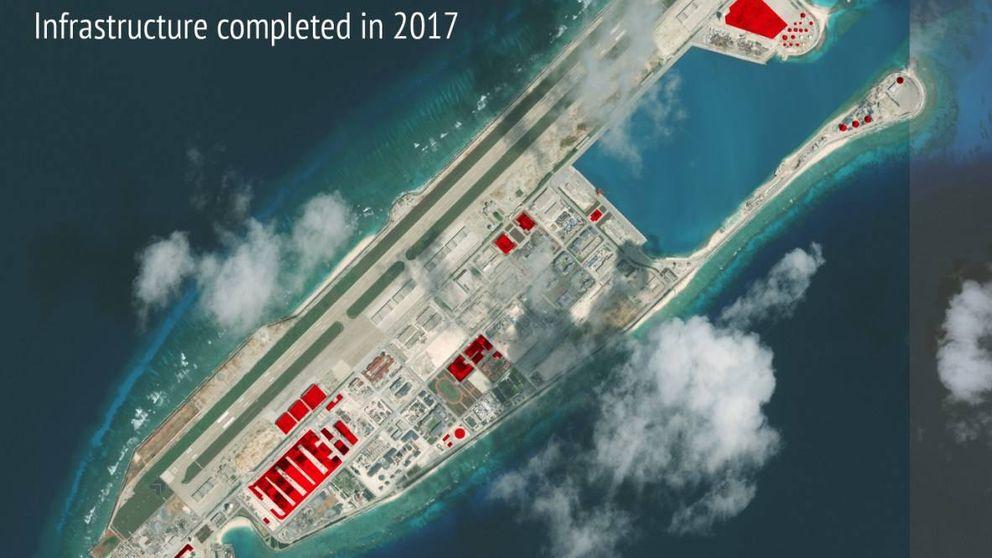 Todo lo que China ha construido en las islas en disputa a lo largo de 2017