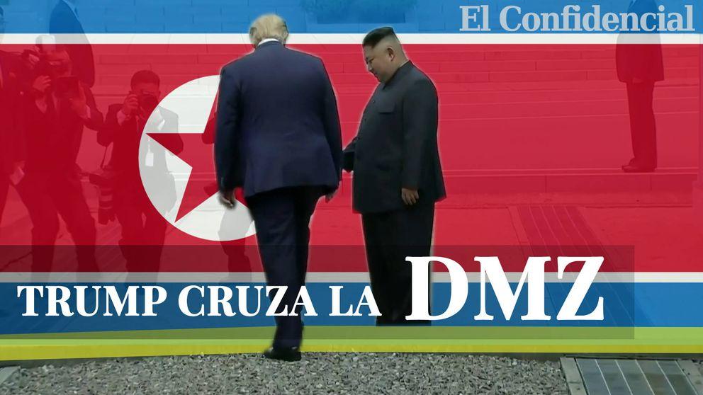 ¿Por qué es tan peligrosa la DMZ? La tensa frontera de Corea del Norte que ha cruzado Trump