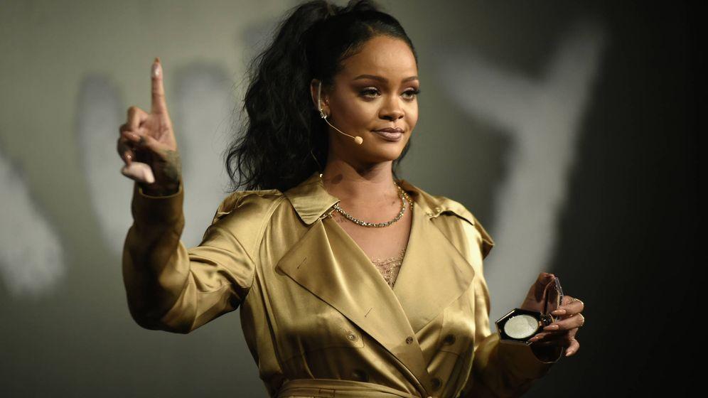 Foto: Rihanna en una presentación de Fenty Beauty. (Getty)