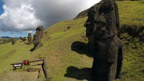 Revelada otra función de las gigantescas estatuas moái de la Isla de Pascua