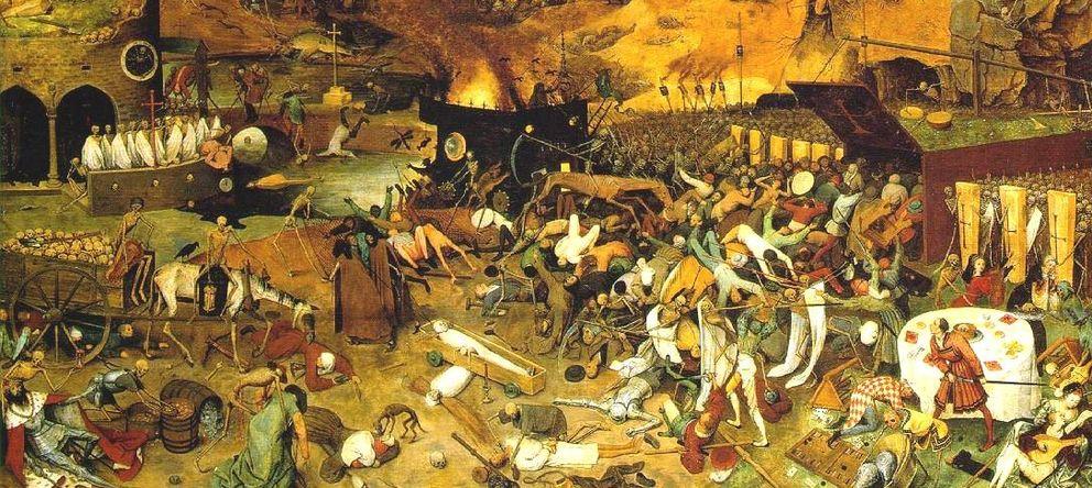 Foto: El triunfo de la muerte, pintado por Pieter Brueghel el Viejo en 1562.