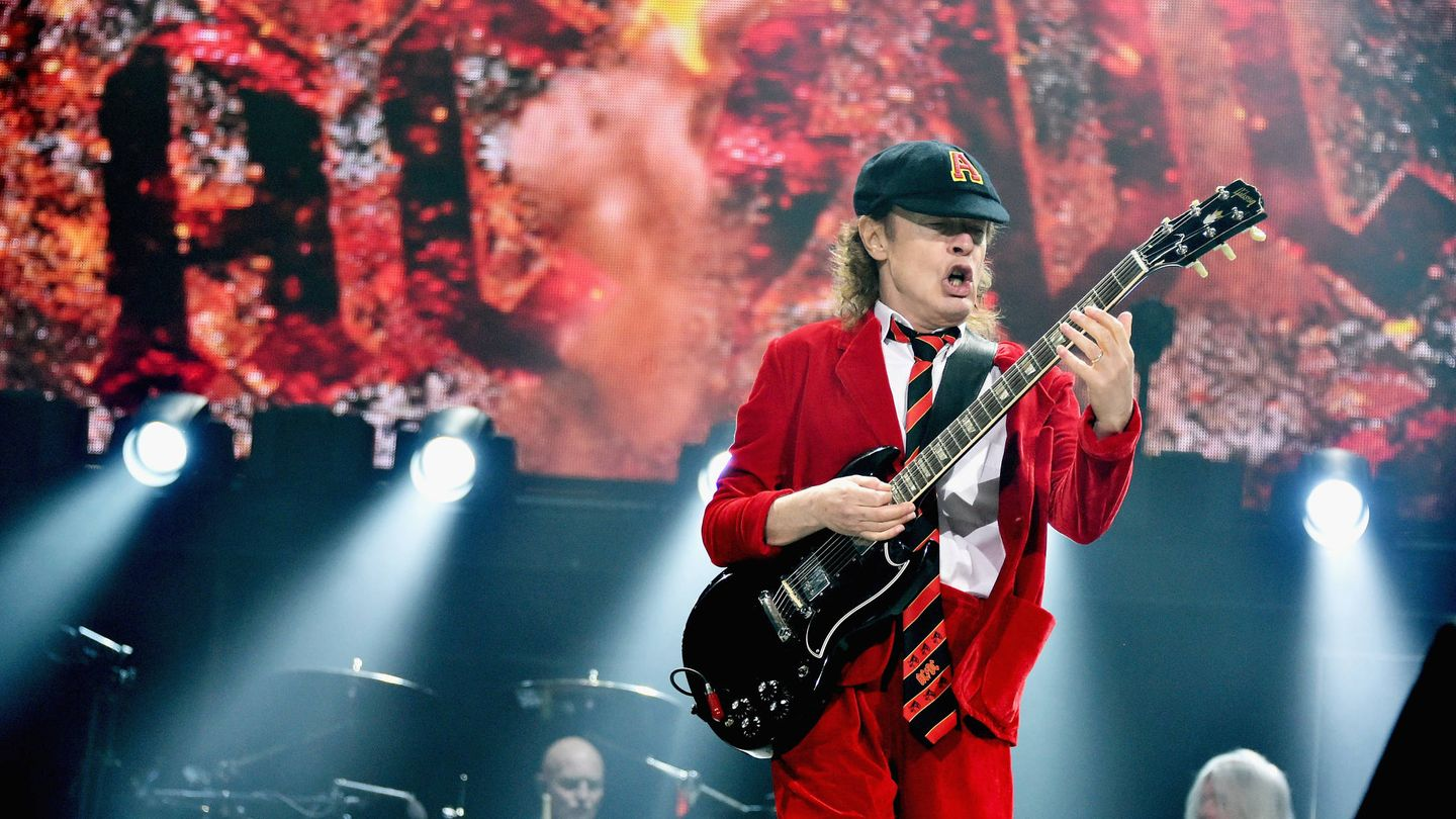 Stevie Young de ACDC (Getty)