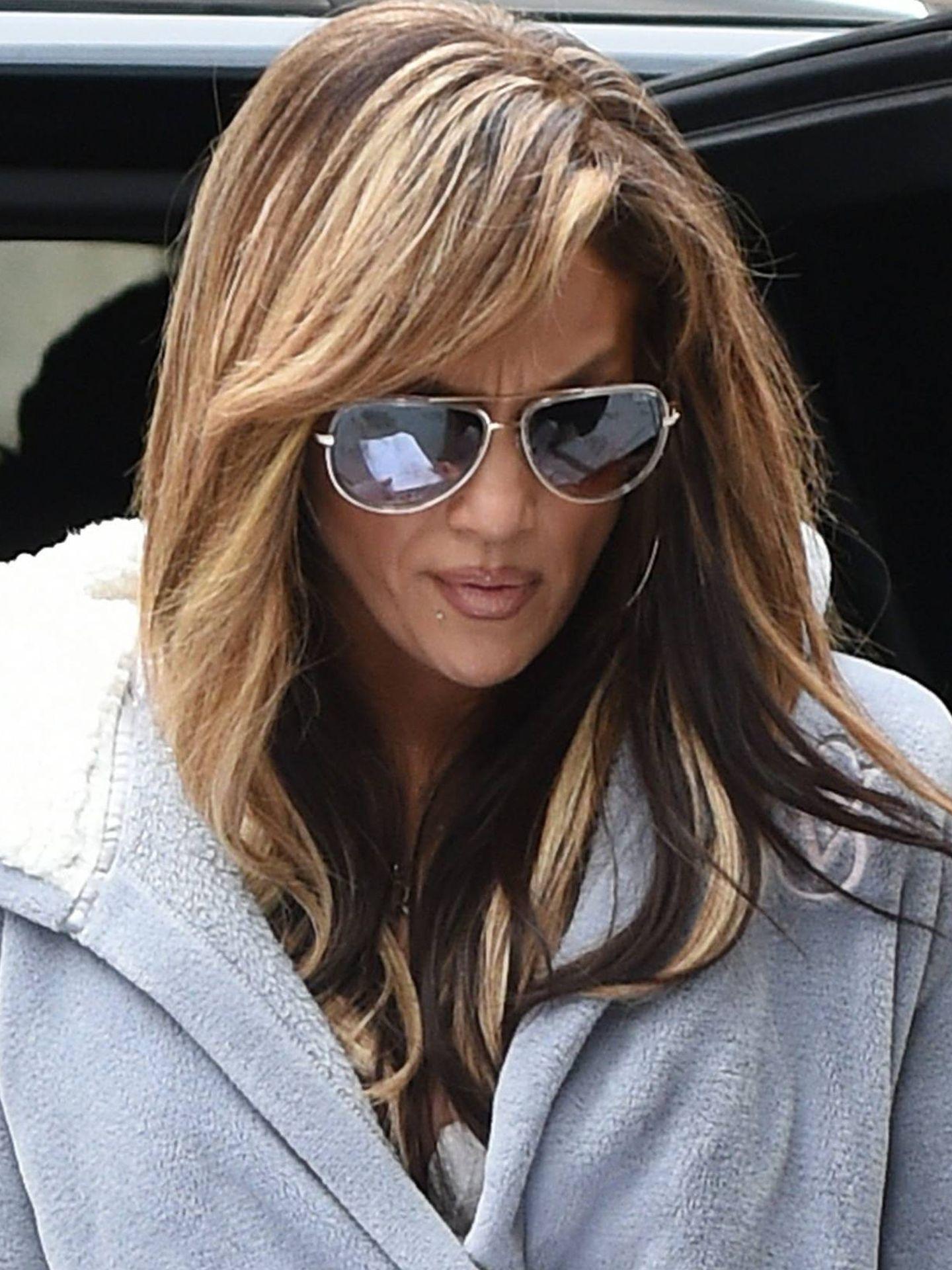Jennifer Lopez en el rodaje de 'Hustlers'. (Cordon Press)