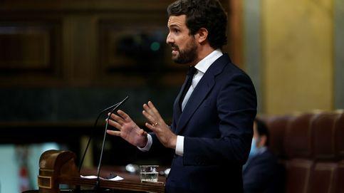 Pablo Casado vuelve al Congreso tocando el tambor de las elecciones
