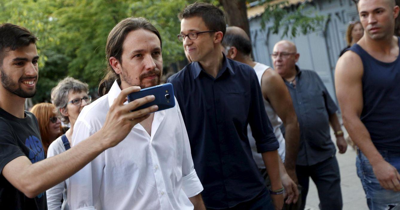 Pablo Iglesias e Íñigo Errejón, dirigentes de Podemos. (Reuters)