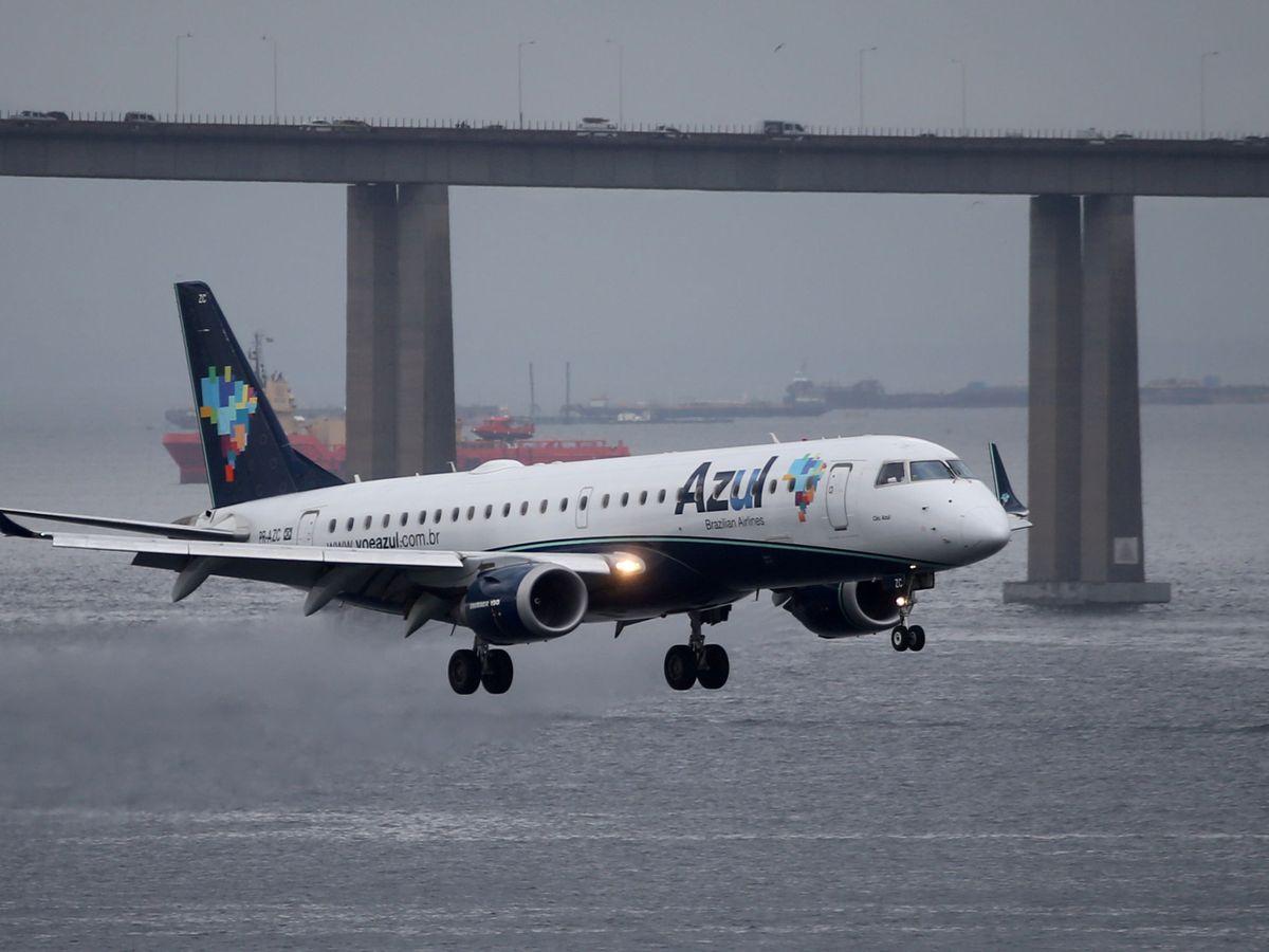 Foto: Un avión de Embraer en Río de Janeiro. (Reuters)