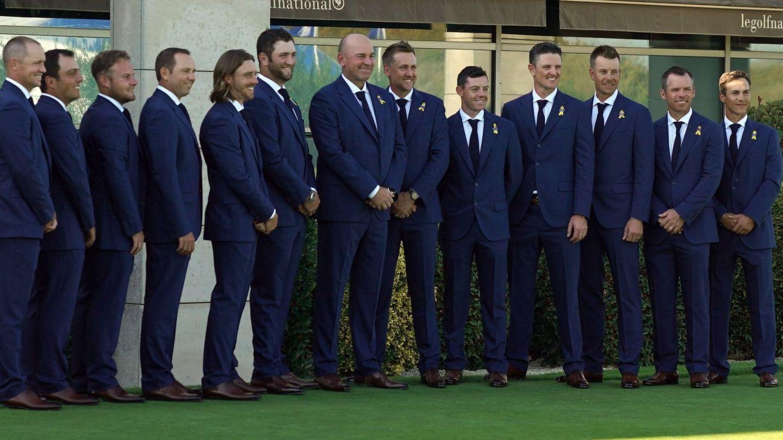 El equipo europeo.