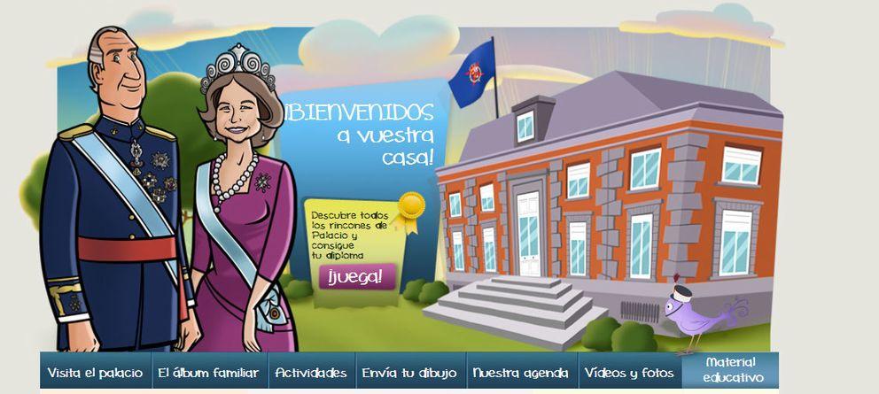 ¿Jugar al Trivial con el Rey? Zarzuela crea una web para niños con dibujos reales