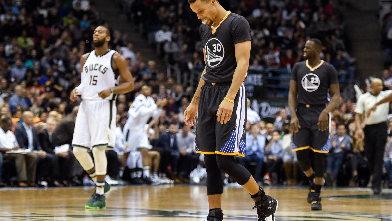 Foto: Los Warriors se quedan con la segunda mejor racha de la historia (Reuters)