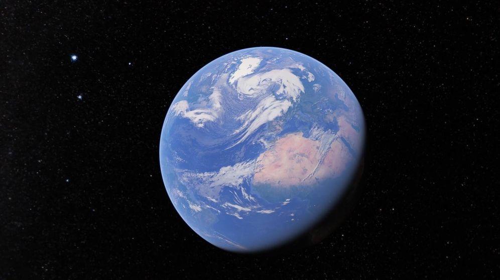 Foto: La Tierra, vista desde Google Earth.