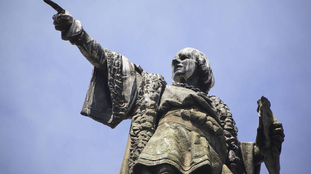 Foto: Estatua de Cristóbal Colón en Barcelona. (iStock)