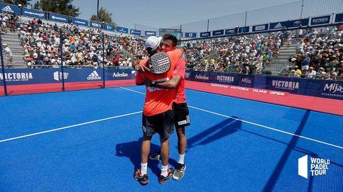 Paquito Navarro y Juan Lebrón se quedan sin final del Mijas Open