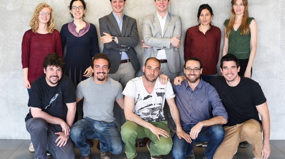 Foto: Los trabajadores de la 'startup' catalana Made of genes