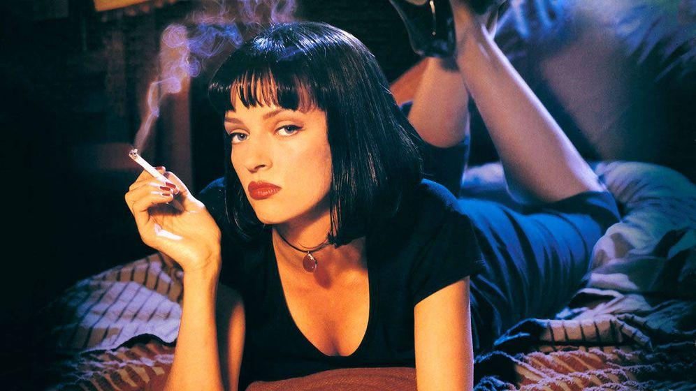Foto: La actriz Uma Thurman como la coprotagonista de 'Pulp Fiction', de Quentin Tarantino