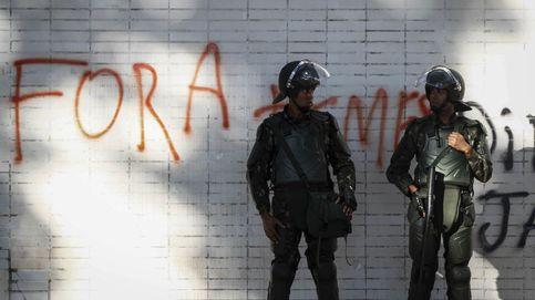 La armada toma las protestas en Brasil