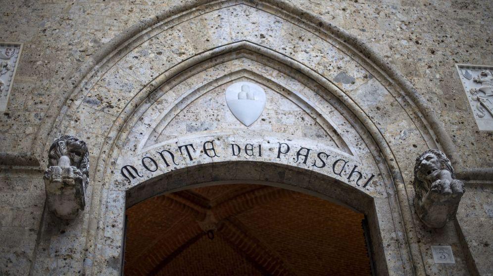 Foto: Sede del banco Montei dei Paschi en Siena (EFE)