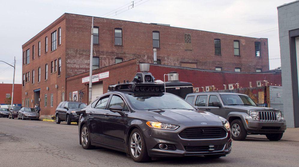 Foto: Ford es uno de los fabricantes que ya trabajan en un coche autónomo. (Flickr | Licencia Creative Commons 2.0)