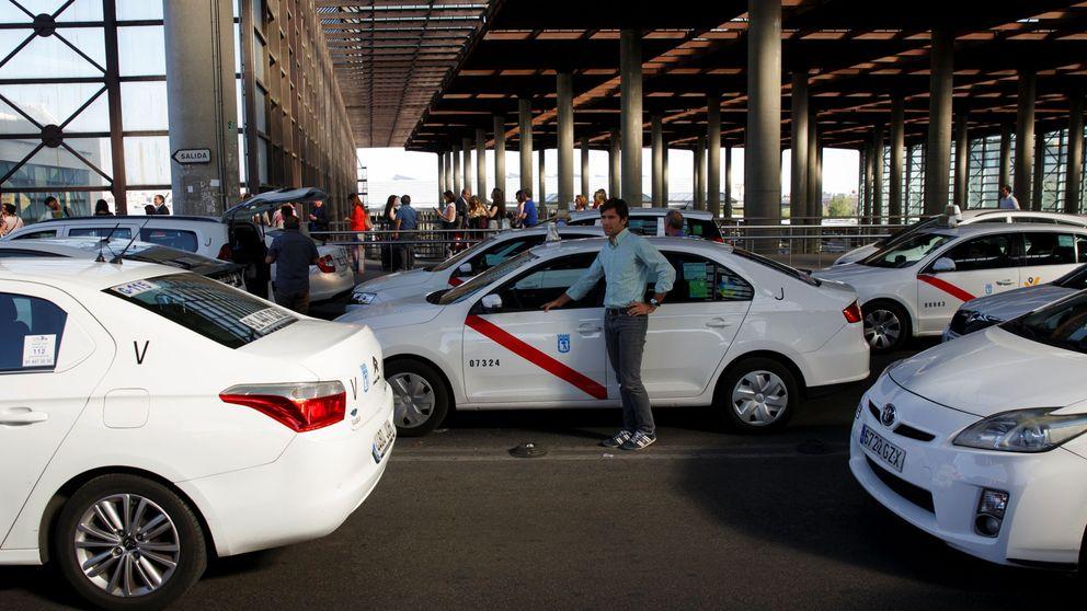 """Victoria del taxi frente a Uber: """"Son cucarachas, tienen lo que se merecen"""""""