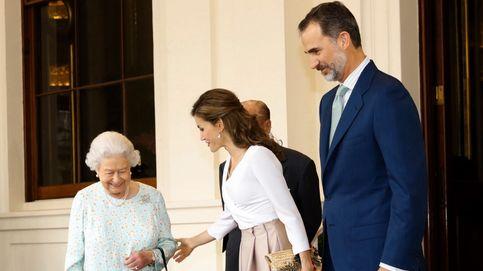 La visita oficial de los reyes Felipe y Letizia a Reino Unido, en imágenes
