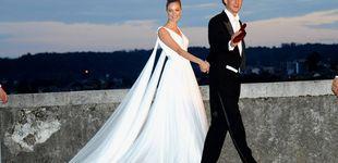 Post de De Grace Kelly a Estefanía: todos los detalles de los 12+1 vestidos de novia de las Grimaldi