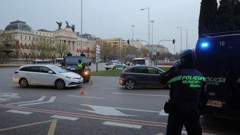 Compras falsas, insultos a la policía y colarse en parques: las multas en Madrid