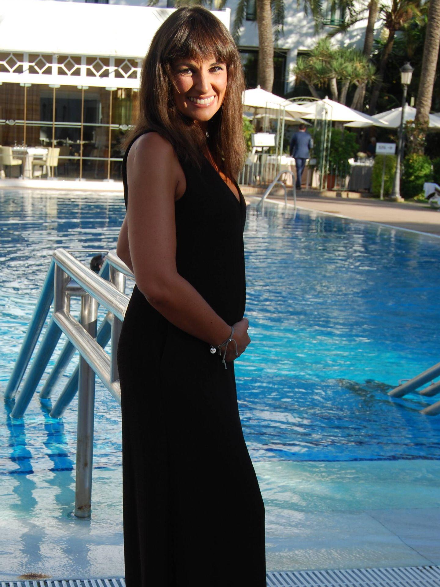 Lorena García, en otra imagen de nuestro posado. (Amparo de la Gama)