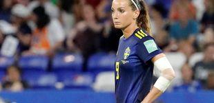 Post de Así es Kosovare Asllani, la primera galáctica del Real Madrid femenino