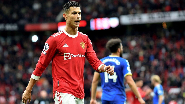 Cristiano Ronaldo, en su vuelta al Manchester United. (EFE)