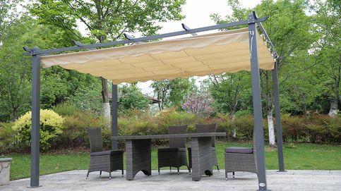 Muebles de exterior para jardines con encanto
