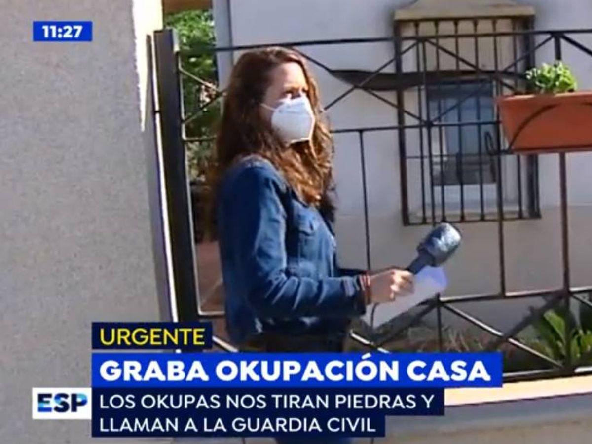 Foto: Reportera de 'Espejo público'. (Antena 3)