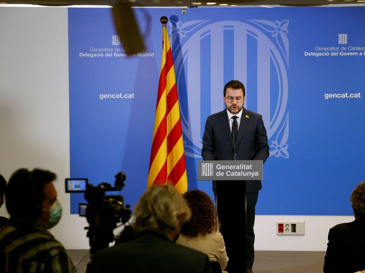 Foto: Pere Aragonès, presidente de la Generalitat. (EFE)