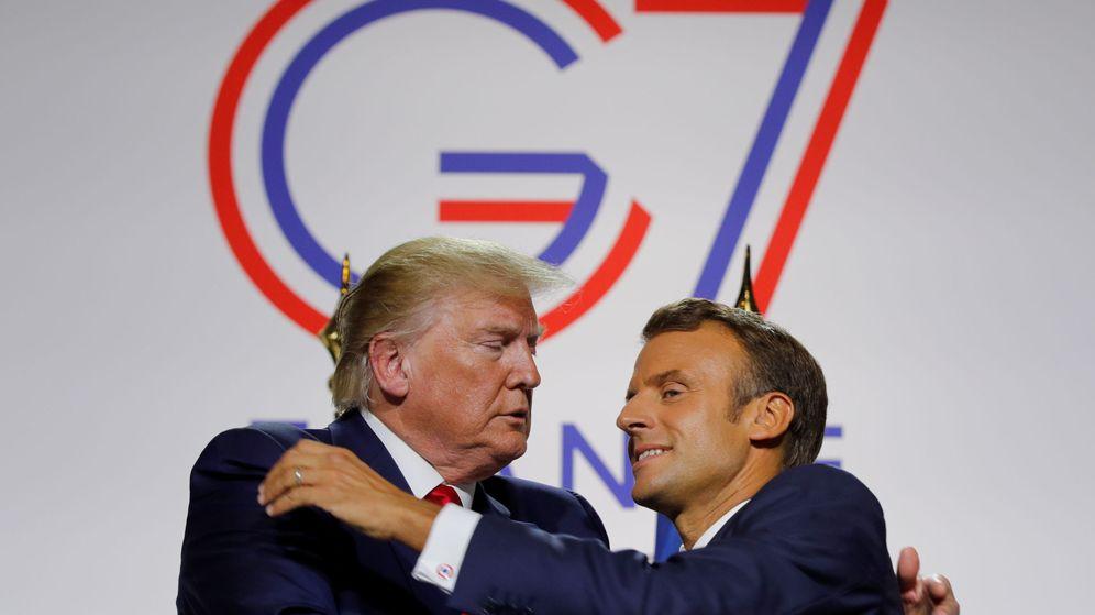 Foto: Trump y Macron, en una imagen de archivo. (Reuters)