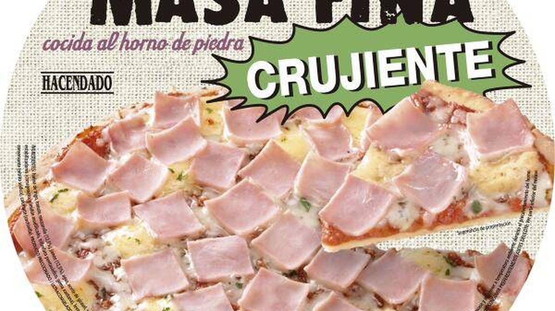 Pizza de Hacendado. (Mercadona)