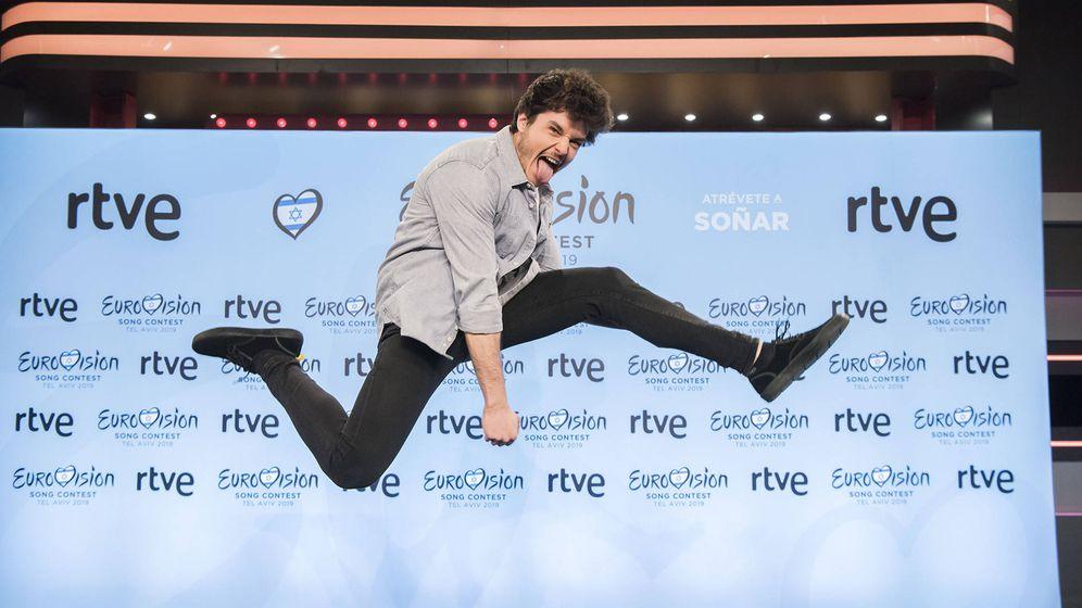Foto: Miki, representante de España en Eurovisión 2019. (RTVE)