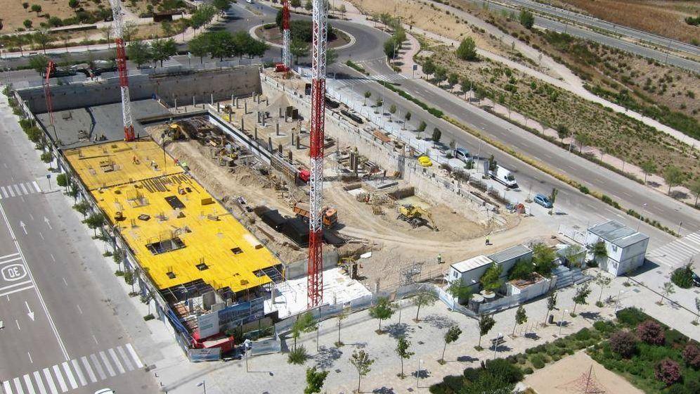 Foto: Aires de La Moraleja, una de las promociones en construcción de Amenabar.