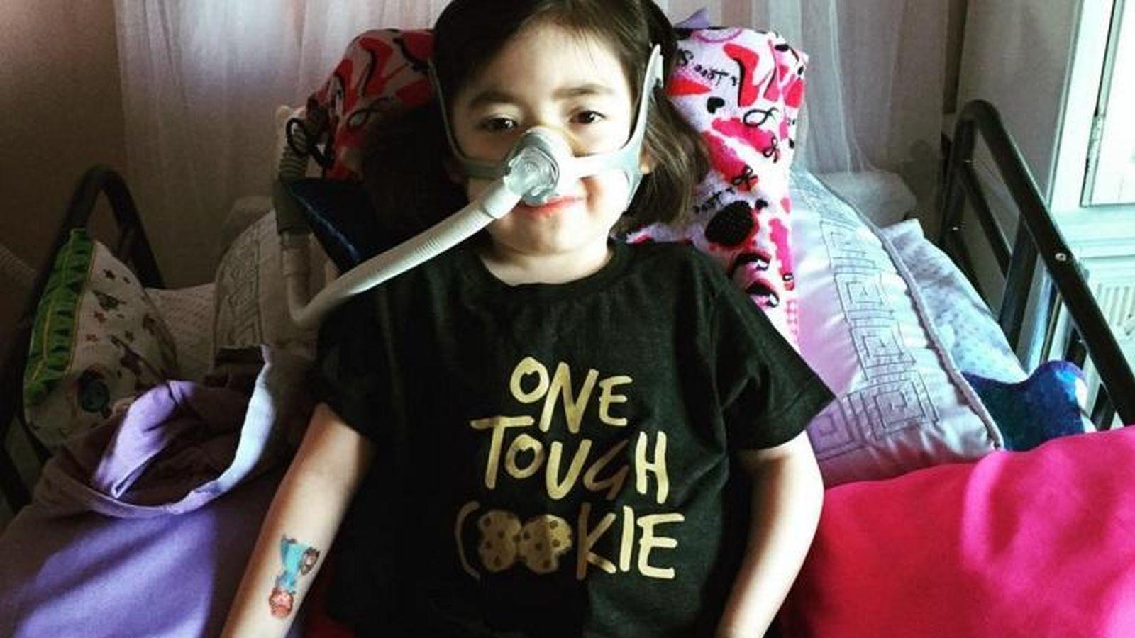 Foto: La niña enferma, Julianna Snow (Instagram/@julianna.yuti)