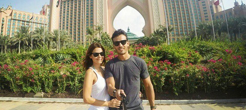 Las mil y una noches de María José Suárez y Javier Lorenzana en Dubái