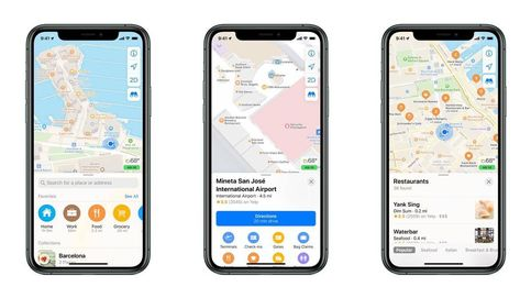 Apple renueva su 'app' Mapas para competir con Google Maps: esto es todo lo que trae