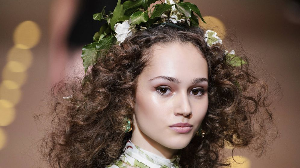 Foto: Imagen del desfile de Dolce & Gabbana. (Imaxtree)