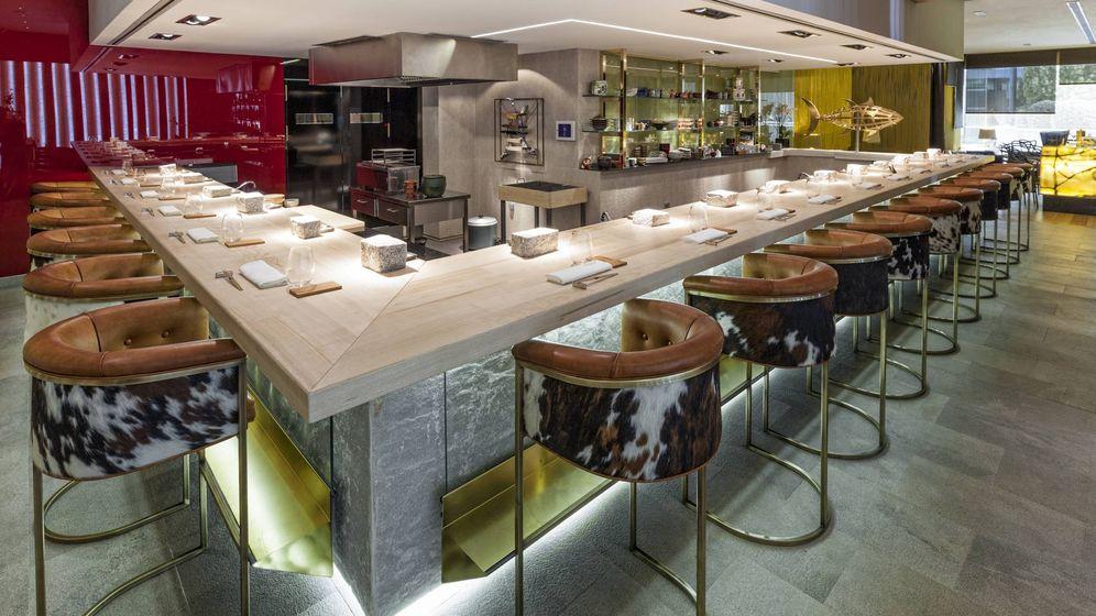 Foto: La barra de 99 KŌ Sushi Bar.