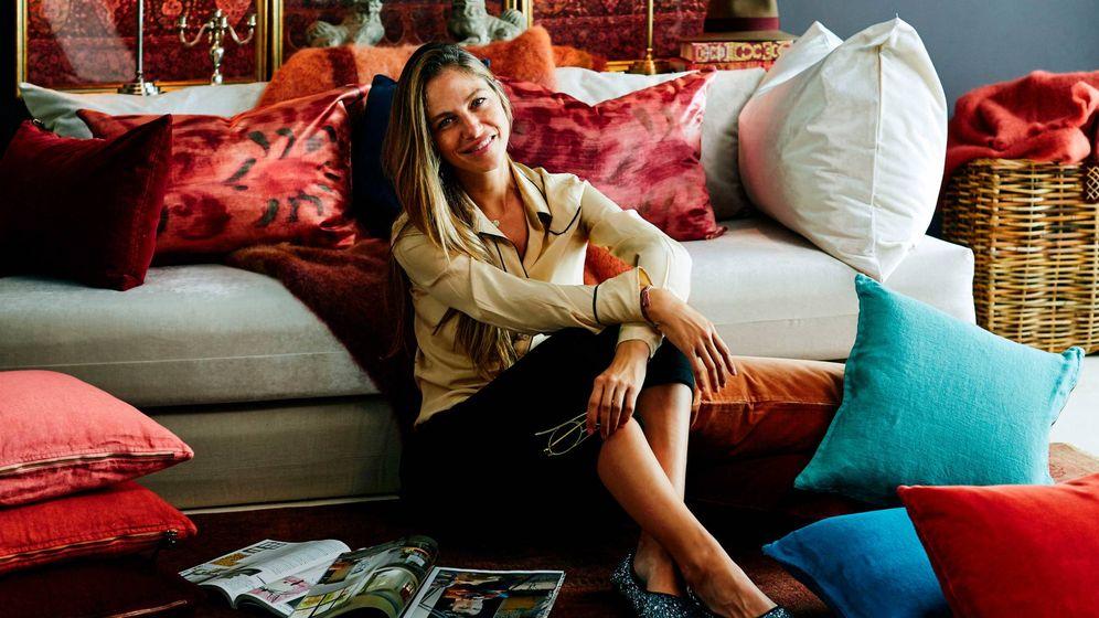 Foto: Martina Klein, decoradora de interiores y alma creativa tras Lo de Manuela.