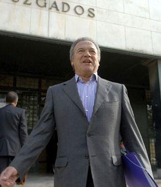 Foto: Pedro Pacheco, condenado: Quieren cargarme los delitos de Urdangarin, Bárcenas y la Gürtel