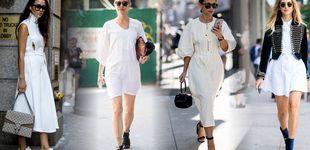 Post de Vestido blanco, cómo llevar la prenda estrella del próximo verano