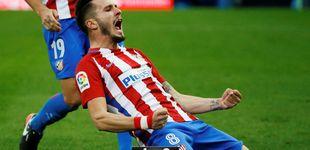 Post de Un ataque de rabia de Saúl devuelve algo de vida al Atlético ante Las Palmas