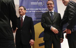 Ni la recesión ni la deflación: todo se centra en Draghi y Weidmann