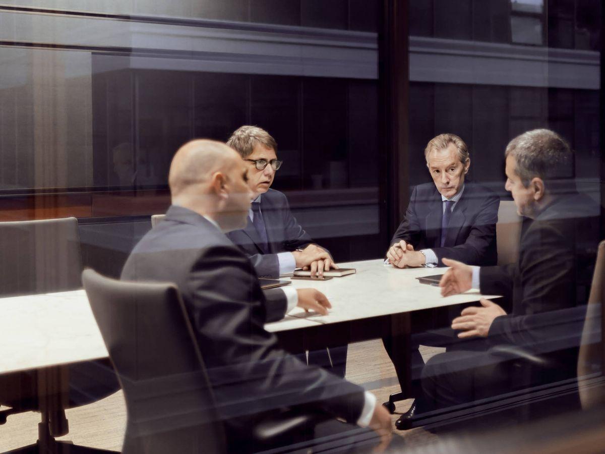 Foto: Una reunión de directivos. (iStock)