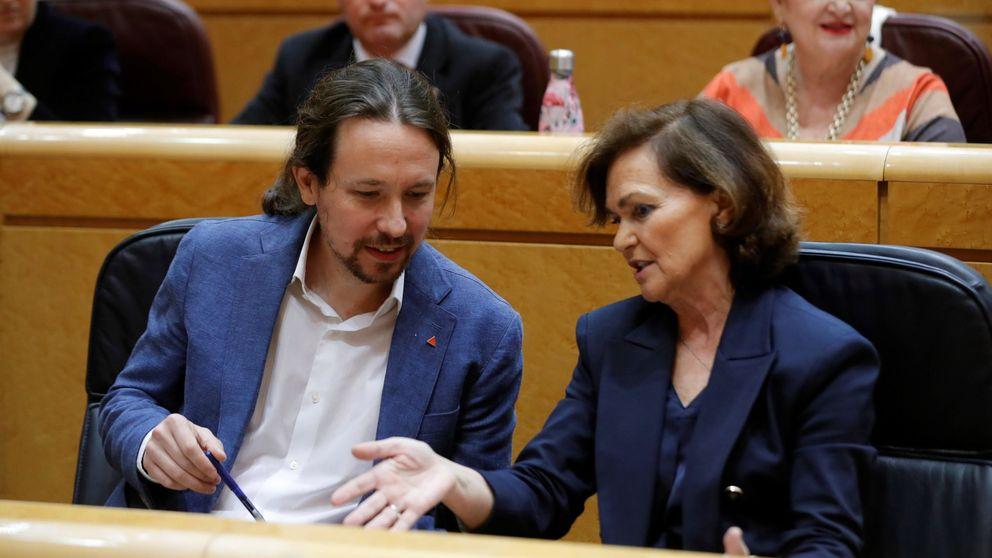 La 'semana de pasión' de la coalición señala a Calvo y erosiona la confianza del Gobierno